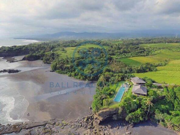 2 bedrooms cliff front villa with ocean sunset view tabanan for sale rent 23