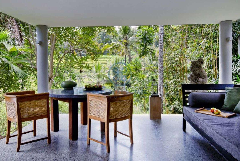 2 bedrooms villa estate river view ubud for sale rent 15
