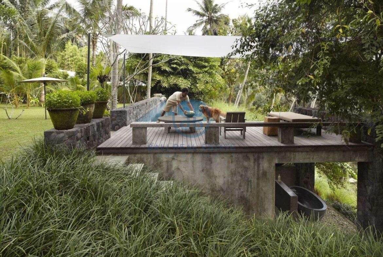 2 bedrooms villa estate river view ubud for sale rent 24