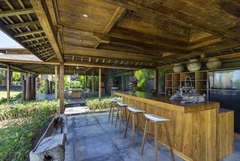 24 bedrooms retreat ocean view tanah lot for sale rent 14
