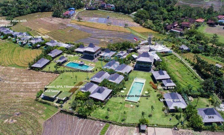 24 bedrooms retreat ocean view tanah lot for sale rent 21