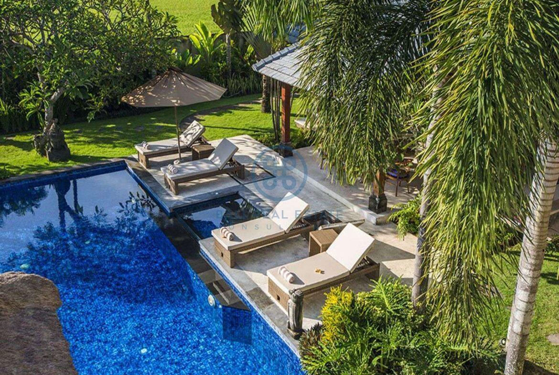 3 bedrooms villa bali style ricefield view kedungu for sale rent 18