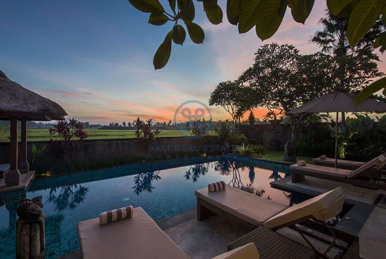 3 bedrooms villa bali style ricefield view kedungu for sale rent 2