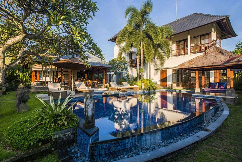 3 bedrooms villa bali style ricefield view kedungu for sale rent 7