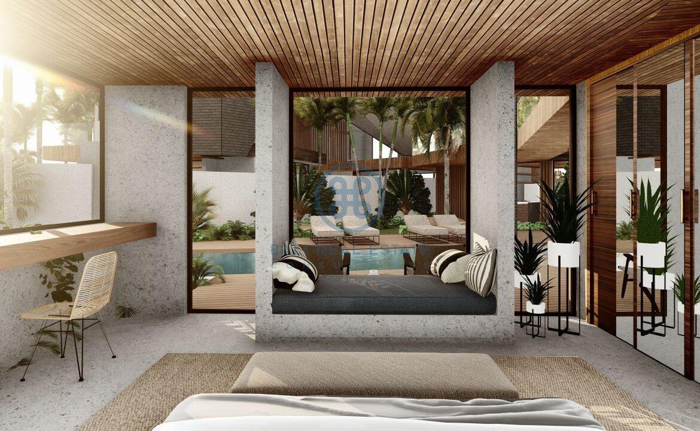 4 5 bedroom leasehold designer villa development canggu berawa for sale12 scaled