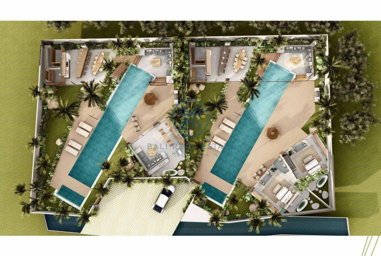 4 5 bedroom leasehold designer villa development canggu berawa for sale18 scaled