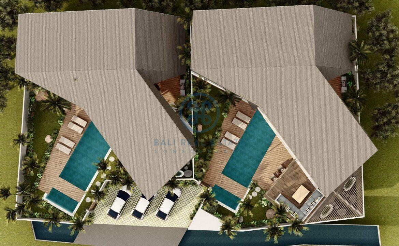 4 5 bedroom leasehold designer villa development canggu berawa for sale20 scaled