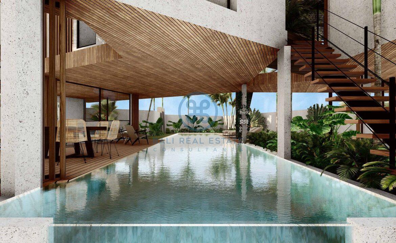 4 5 bedroom leasehold designer villa development canggu berawa for sale5 scaled