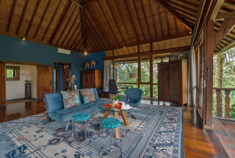 4 bedrooms villa estate jungle view ubud for sale rent 17