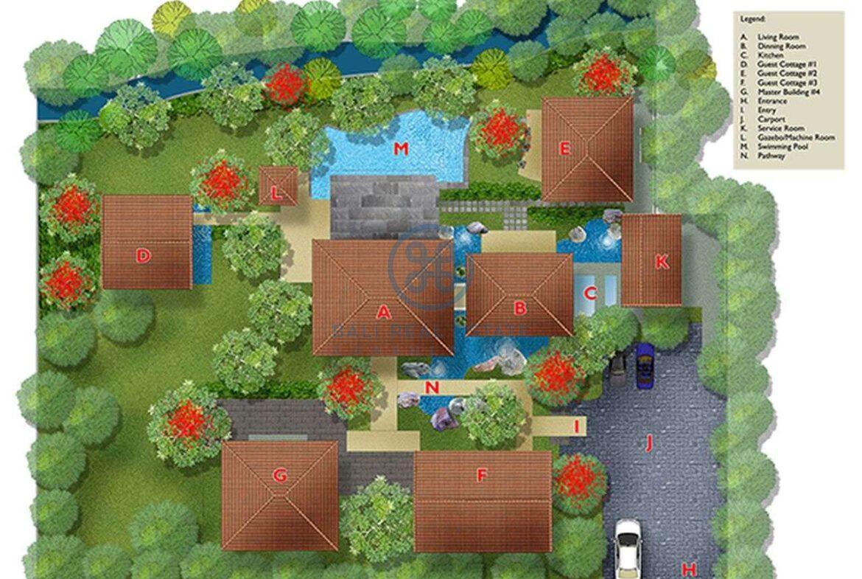 4 bedrooms villa estate jungle view ubud for sale rent 22