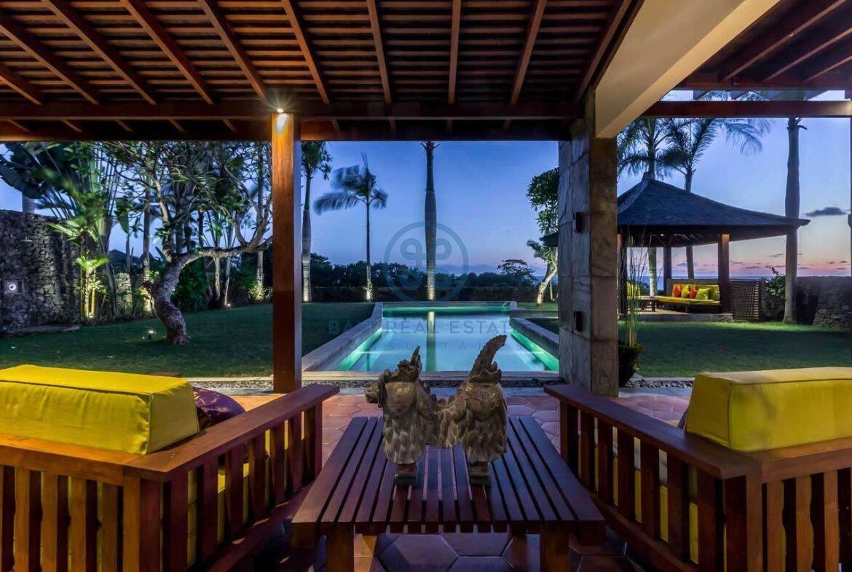 4 bedrooms villa ricefield ocean view beraban for sale rent 3 scaled