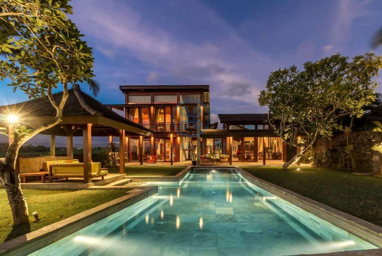 4 bedrooms villa ricefield ocean view beraban for sale rent 6 scaled