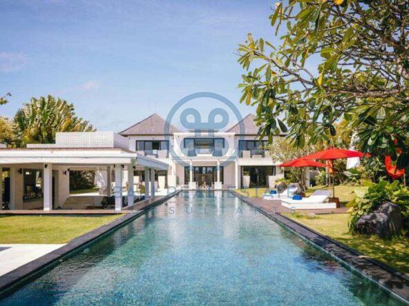 5 bedrooms contemporary seaside villa bali cemagi for sale rent 1