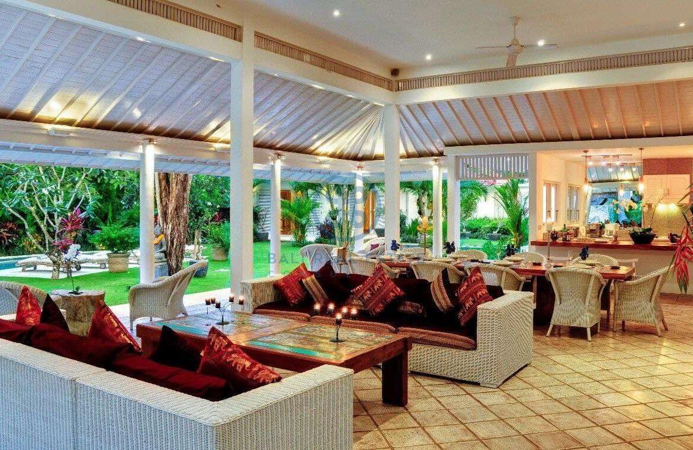 5 bedrooms villa garden view petitenget seminyak for sale rent 6 scaled