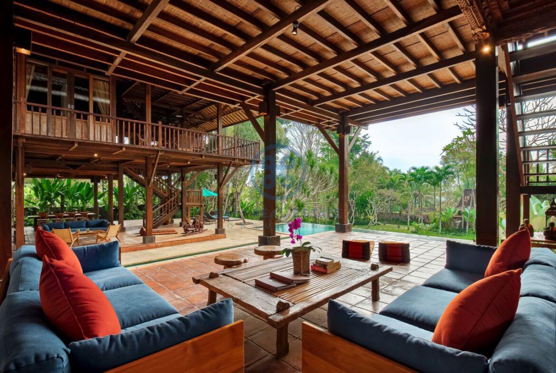 7 bedrooms villa hideaway moutain view ubud for sale rent 11