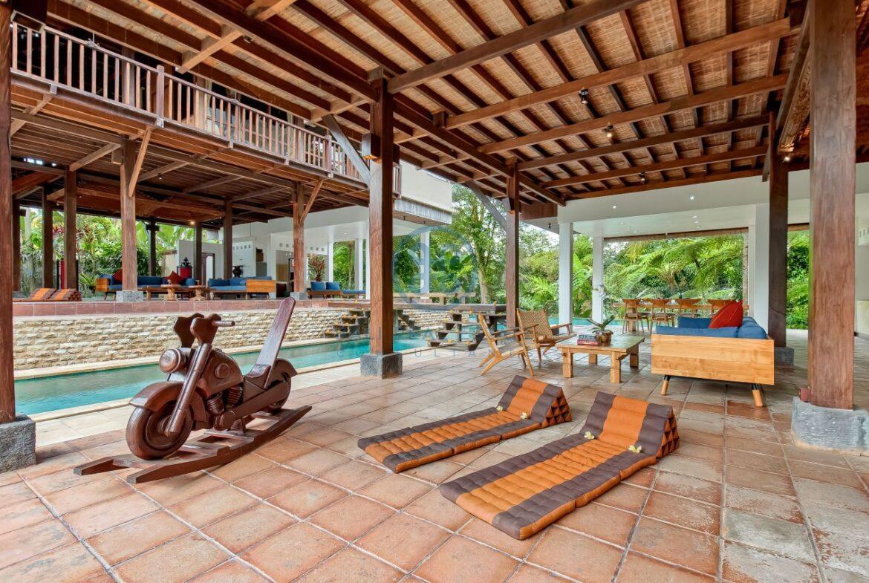 7 bedrooms villa hideaway moutain view ubud for sale rent 13