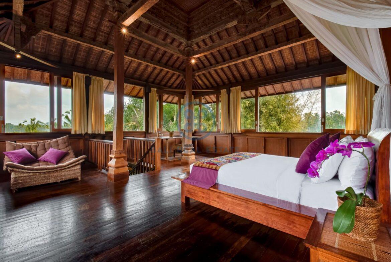 7 bedrooms villa hideaway moutain view ubud for sale rent 3