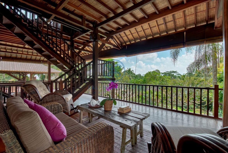 7 bedrooms villa hideaway moutain view ubud for sale rent 8