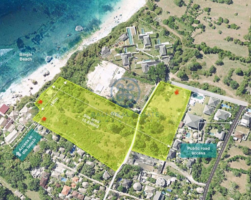 ha prime land bingin surf for sale