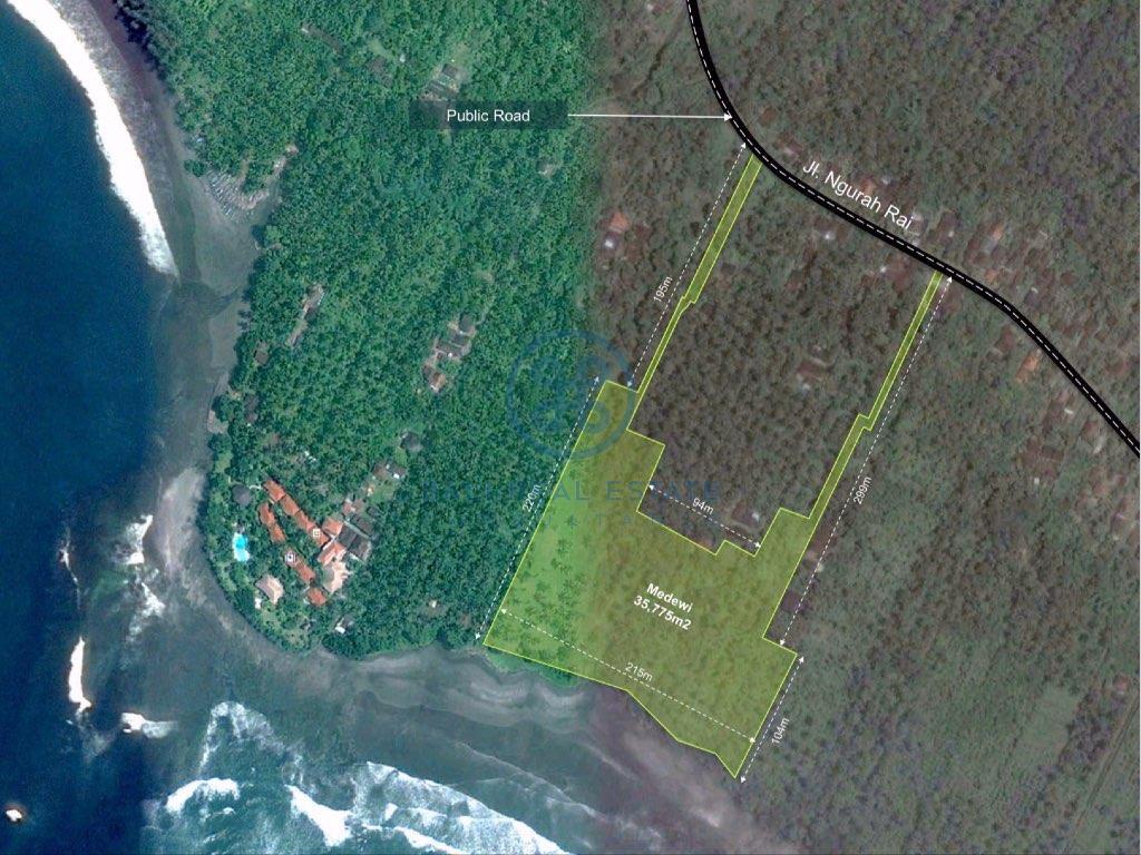 ha land in medewi for sale