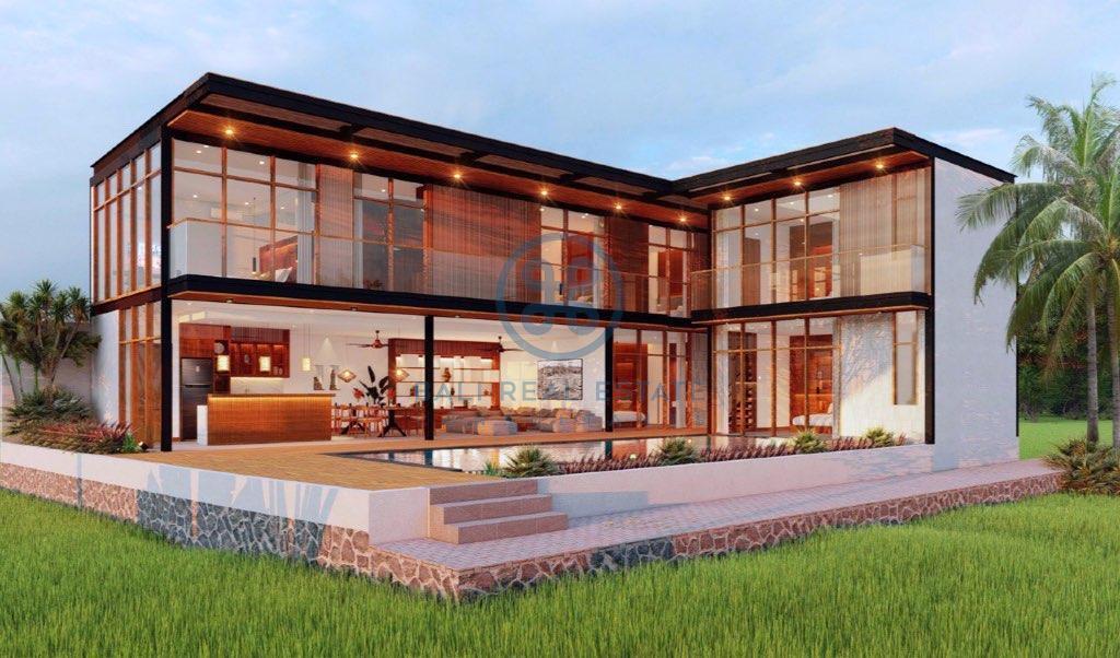 bedroom offplan villa leasehold in berawa for sale