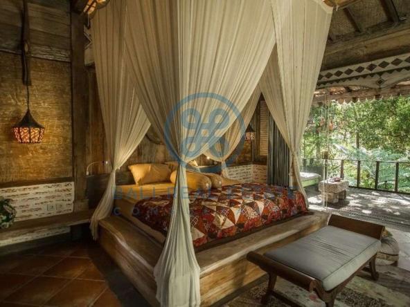 bedroom jungle cottage ubud for sale rent