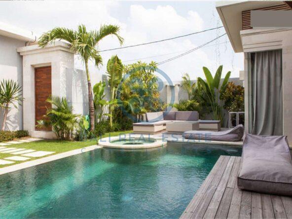 bedrooms villa garden view seminyak for sale rent