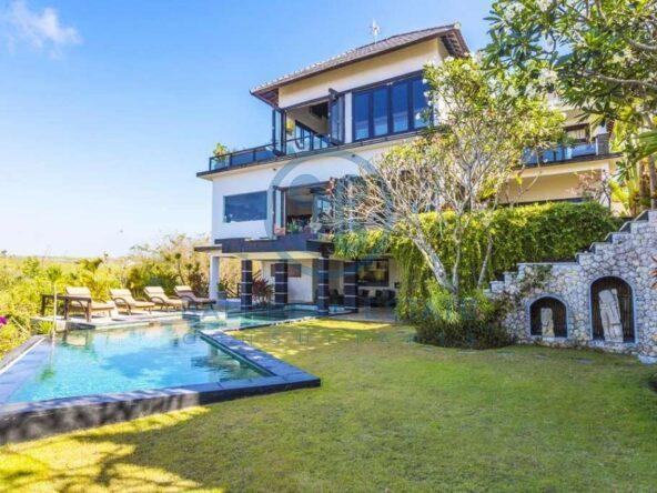 bedrooms villa bali bukit panoramic view for sale rent