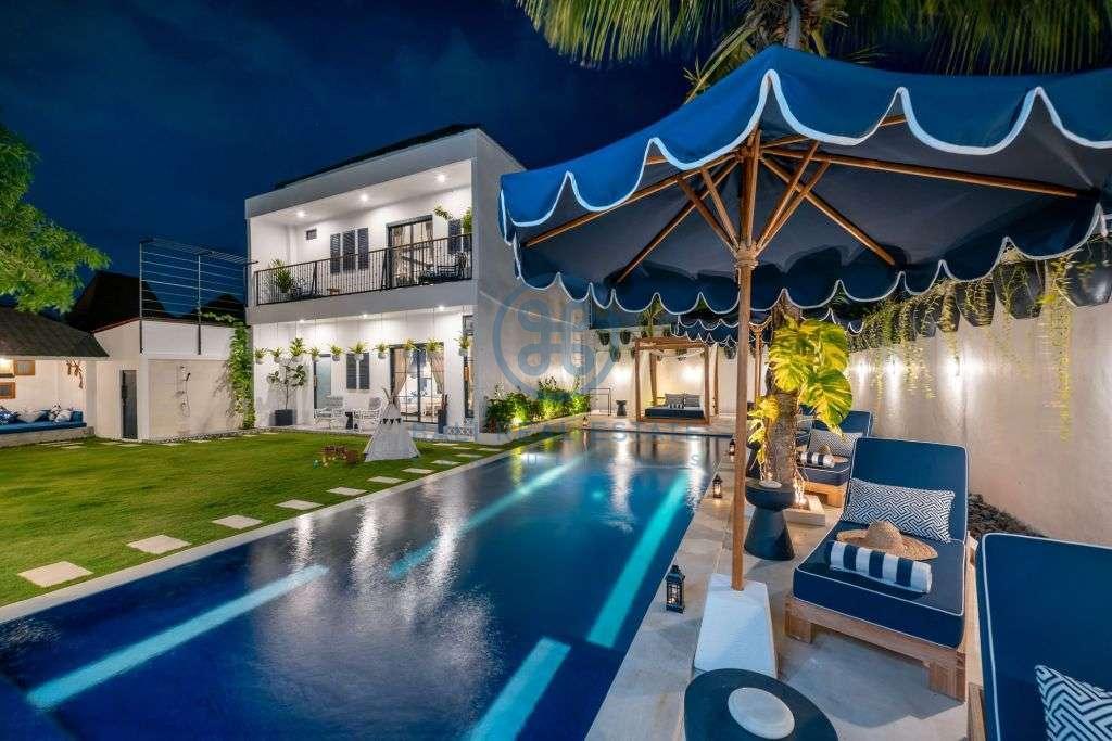 bedrooms villa garden pool view seminyak for sale rent