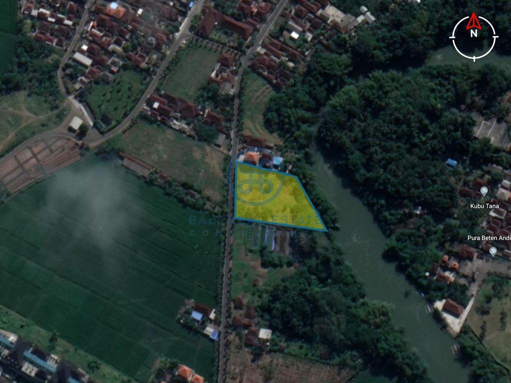 land river front yeh gangga tabanan for sale rent