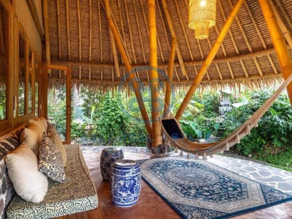 bedroom eco villa in ubud for sale