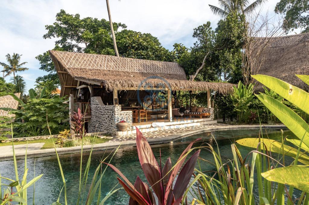bedroom sustainable eco villa in ubud for sale
