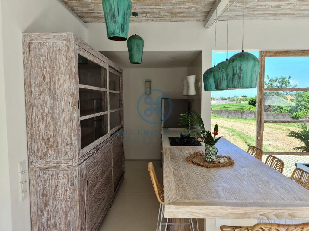 bedroom villa garden rice field view umalas for sale rent